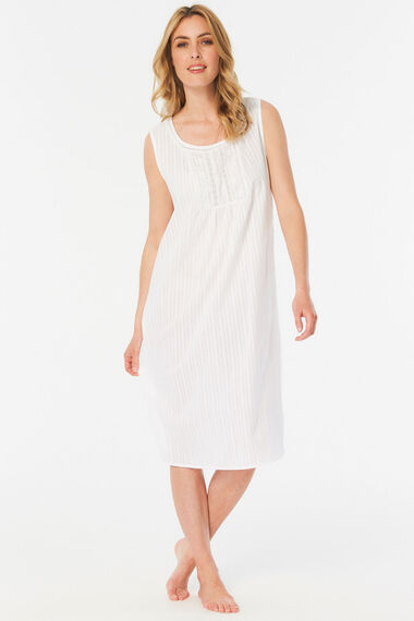 Embroidered Detail Nightdress