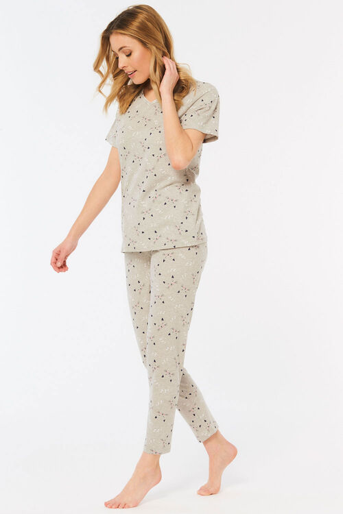 Cat Face Gift Pyjama Set