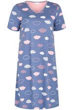 Cloud Print Nightdress