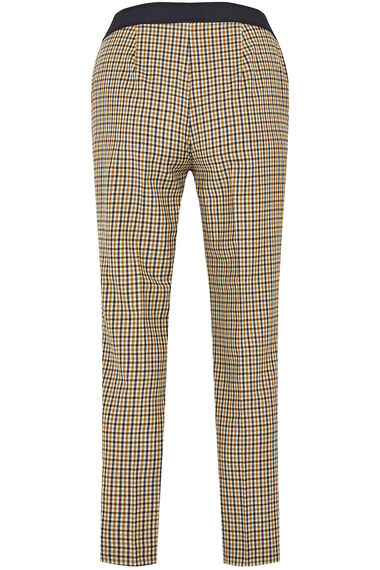 Salvari Slimline Small Check Trouser