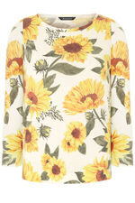 Sunflower Printed Jumper