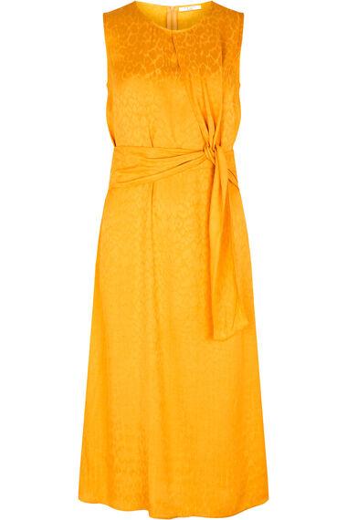 Grace By Eda Jacquard Tie Front Dress