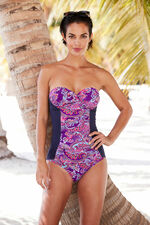 Paisley Print Multiway Swimsuit