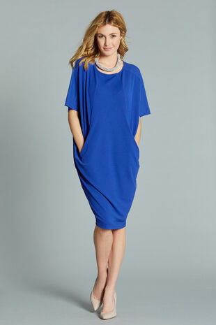 Cocoon Shape Dress