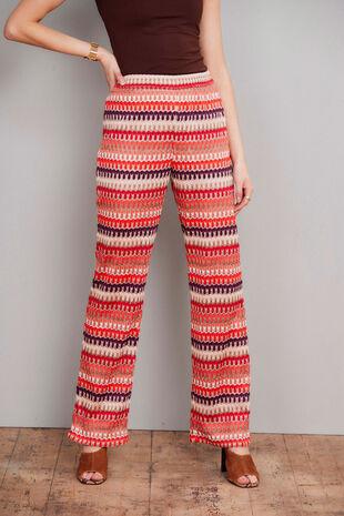 Salvari Crochet Trouser