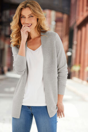 Ripple Textured Cardigan