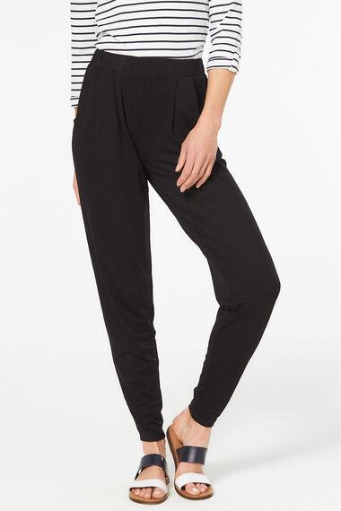 Plain Jersey Harem Trousers