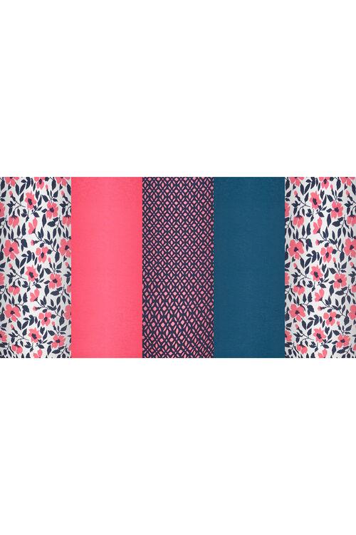 5 Pack Floral Print Full Briefs