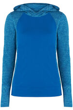 NVC Activewear Two Tone Hooded Top