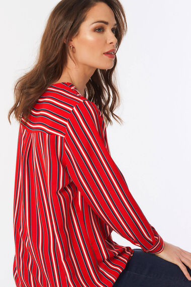 Stripe Overhead Blouse