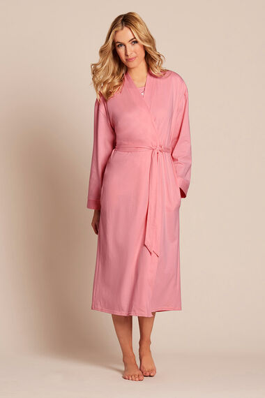 Pink Cotton Short Jersey Wrap