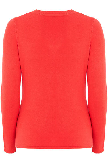Supersoft V-Neck Jumper