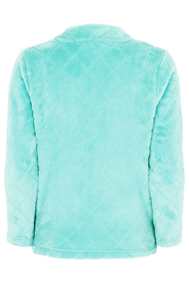 Aqua Fleece Bed Jacket