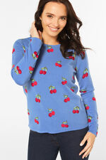 Supersoft Cherry Printed Jumper