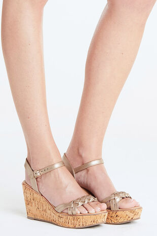 Maya Grace Platform Wedge Sandal