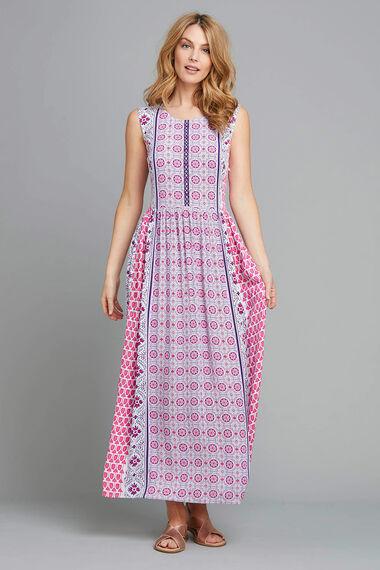 Crinkle Maxi Dress
