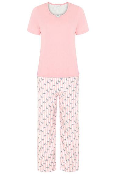 Sausage Dog Stripe Printed Pyjama