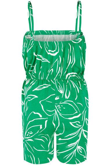 Painted Floral Playsuit