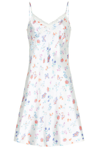 Butterfly Print Chemise