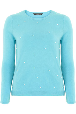 Supersoft Pearl Trim Jumper