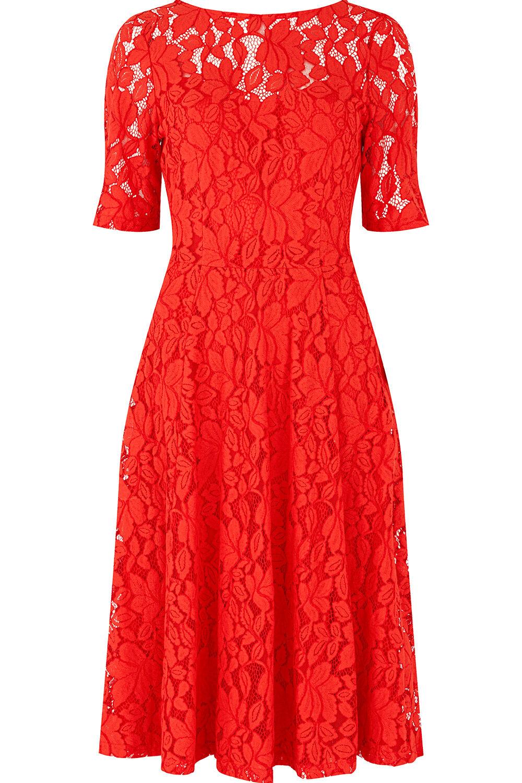 bellfield half sleeve lace dress