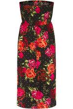 Floral Spot Print Multiway Beach Dress
