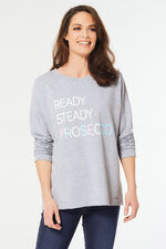 Prosecco Slogan Sweat