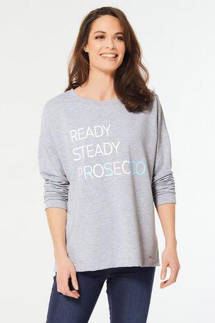 Prosecco Slogan Sweat