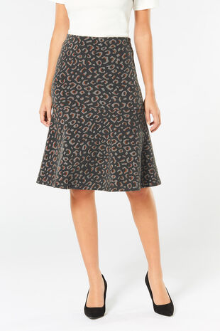 Animal Ponte Flippy Skirt