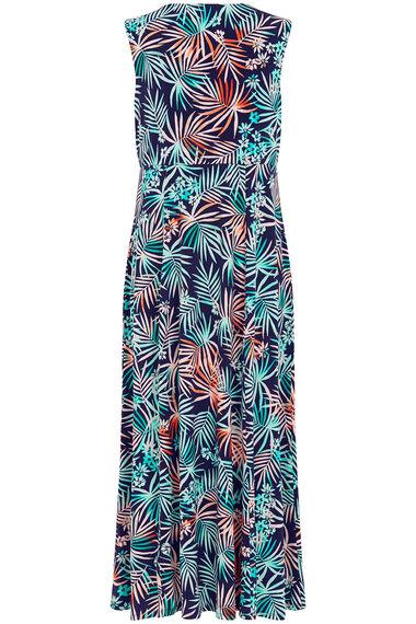 Ann Harvey Ombre Palm Maxi Dress