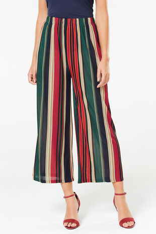 Izabel Striped Culotte