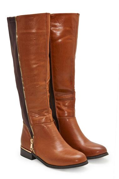 Krush Knee High Flat Boot