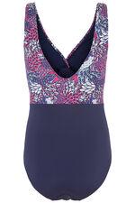 Dorina Feather Print Swimsuit