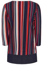 Short Sleeve Stripe Tunic