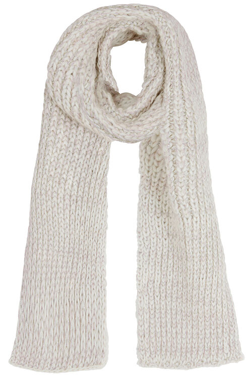 Honeycomb Soft Knitted Scarf