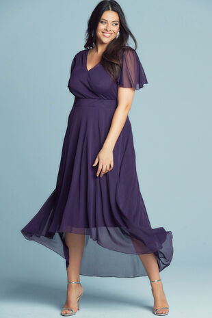 Scarlett & Jo Tilly Angel Sleeve Sweetheart Dress