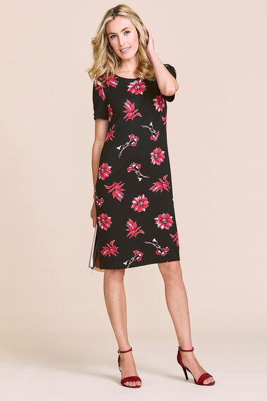 Floral Jersey Tunic