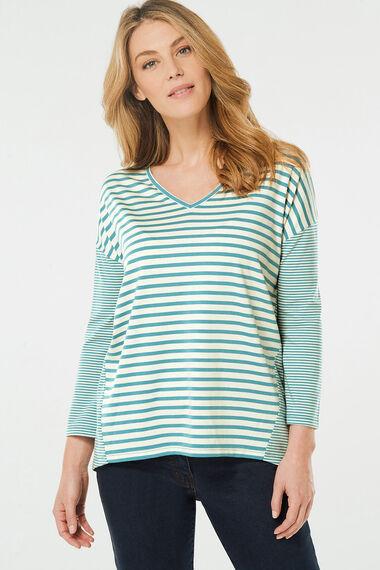 Mixed Stripe T-Shirt