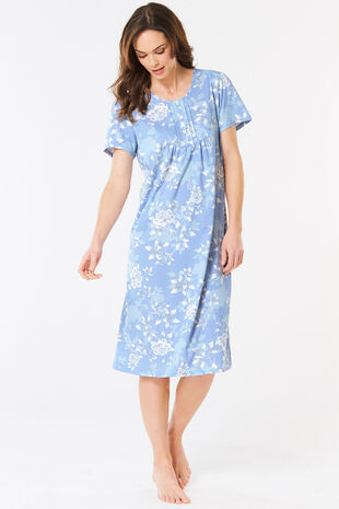 Floral Pintuck Nightdress