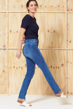 Nine To Six Light Indigo Straight Leg Jeans