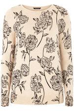 Rose Printed Jumper