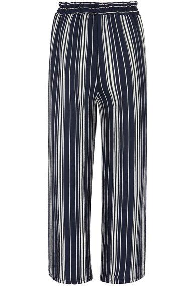 Izabel Soft Crepe Stripe Culotte