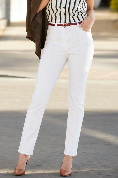 White Susie Slim Jean