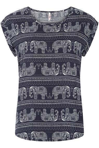 Stella Morgan Elephant Print T-Shirt