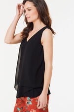 Sleeveless Double Layer Vest