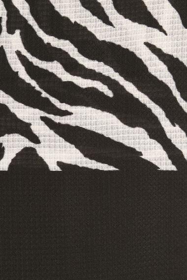 Akel Zebra Print Scarf