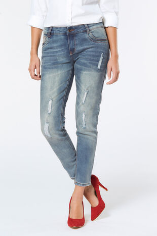 Izabel Distressed Jeans