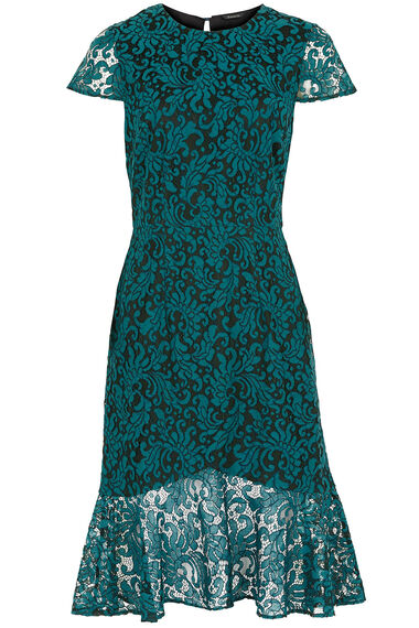 Peplum Lace Dress