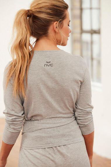 NVC Activewear Wrap Yoga Top