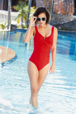 Wrap Front Underwired Swimsuit